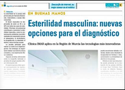 Esterilidad masculina: nuevas opciones para el diagnóstico