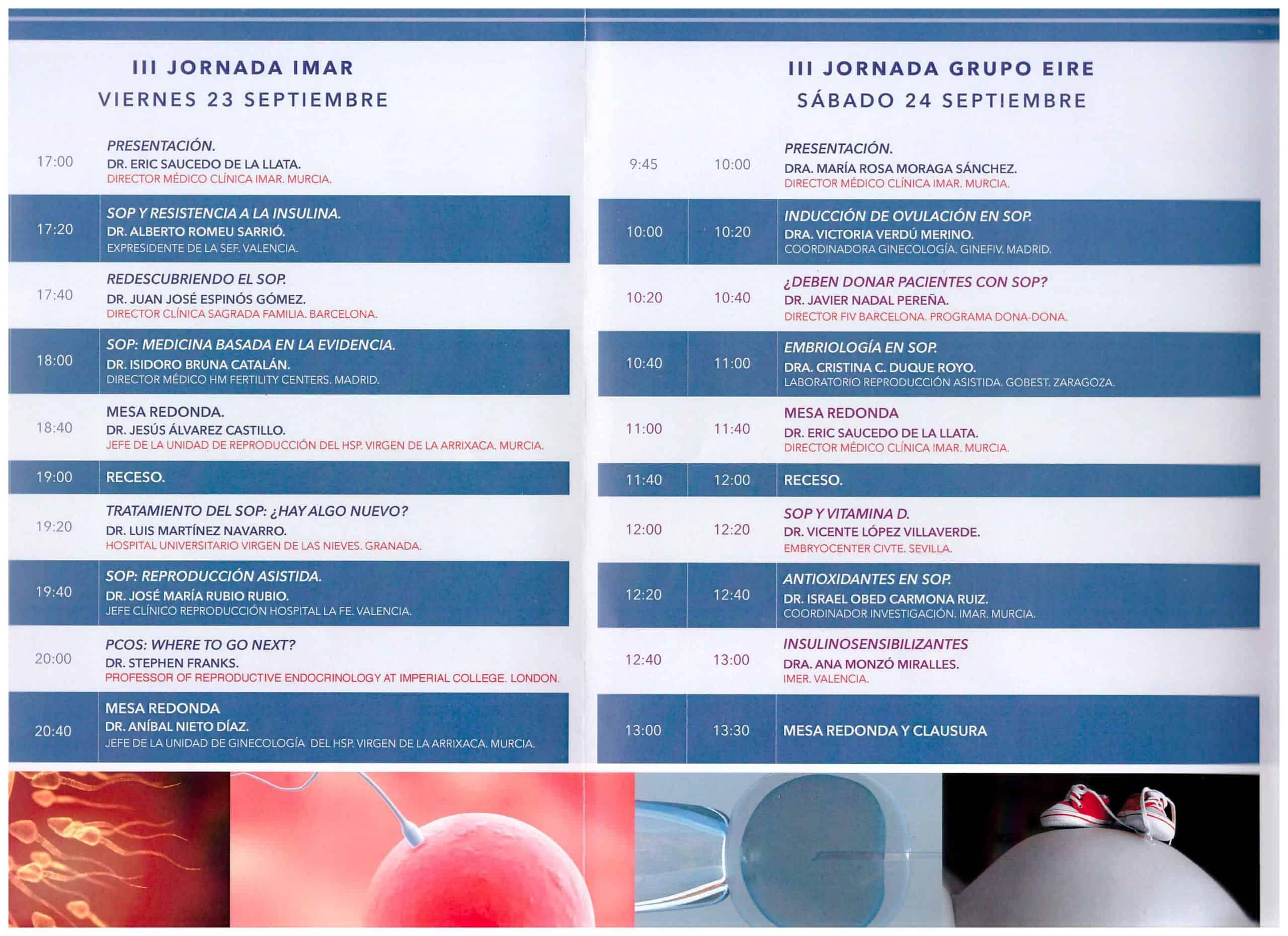 III Jornada de Medicina Reproductiva