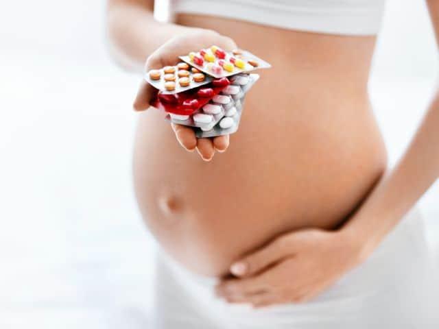 Medicamentos prohibidos en el embarazo