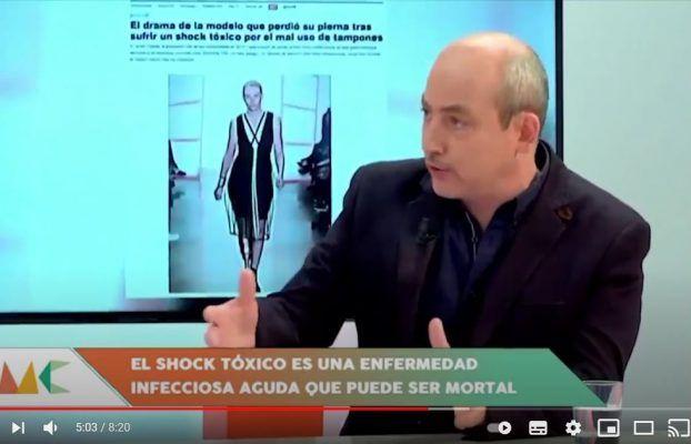 Una modelo sufre el Síndrome del shock tóxico por utilizar un tampón | 7TV